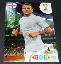 KYLE WALKER ANGLETERRE ENGLAND FOOTBALL CARD PANINI FIFA WORLD CUP BRASIL 2014