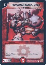Duel Masters trading card 80/110 Immortal Baron, Vorg