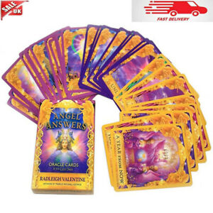 44Pcs/Set For Angel Answers Oracle Cards Deck Card Radleigh Valentine Kits