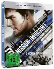 MISSION: IMPOSSIBLE 3 (Tom Cruise) 4K Ultra HD + Blu-ray Disc, Steelbook NEU+OVP