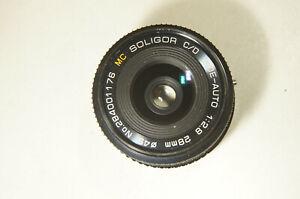 Soligor Wide-Auto 28mm f2.8 - Canon FD parts/repair