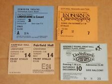 Lindisfarne - Lot of 4 concert tickets 1978-1983