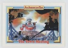 1991 Impel An American Tail: Fievel Goes West #123 The Town Meeting Card 0b6
