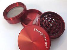 Grinder (SharpStone) 4 piece 2 inches (Red)