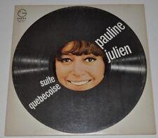 PAULINE JULIEN: Suite Quebecoise LP Record Quebec Canada