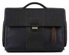 PIQUADRO Laptop and Tablet Briefcase Blu