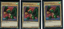 3 x Papageidrache LCKC-DE096, Ultra Rare, Deutsch, Mint, Playset