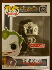 Funko Pop Batman: Arkham Asylum THE JOKER Chrome 2019 NYCC Target EXCLUSIVE