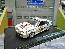 OPEL Manta B 400 Rallye Ypern Ypres 1984 #1 McRae Saxon UMBAU IXO base 1:43