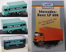 Atlas Edition 7421123 Mercedes-Benz LP 608 Kofferwagen MÖBEL-BOEHME 1:43 OVP