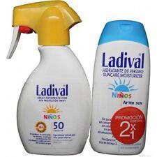 Ladival Fotoprotector spray 50 Niños 200 ml Aftersun regalo. pieles Atópicas.