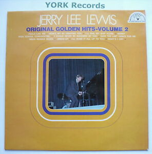 JERRY LEE LEWIS - Original Golden Hits Volume 2 - Ex Con LP Record Sun 6467 008