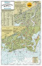 Sealake South Carolina Bulls Bay Fish Map Chart Print