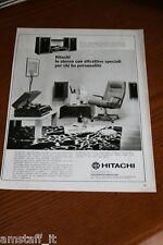 BL20=1972=HITACHI STEREO=PUBBLICITA'=ADVERTISING=WERBUNG=