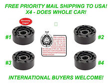 X4 - EMPI 87-9470 OFF-ROAD 930 CV JOINT W/ CHROMOLY CAGE RAIL DUNE BUGGY BEETLE