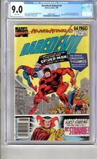 Daredevil Annual 4 9.0 CGC W/P App..Spider Man & Dr. Strange..!