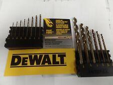 DEWALT DW1925 25//64-Inch Gold Ferrous Oxide Pilot Point Twist Drill Bit