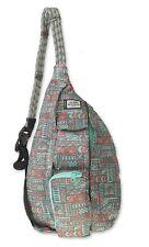 KAVU Mini Rope Pack Sling Bag Crossbody Polyester Backpack - Pastel Chalk