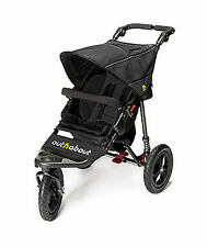 Out n About Nipper Single V4 Raven Black Pushchairs Single Seat Stroller