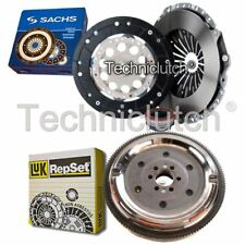 SACHS 3 PART CLUTCH KIT AND LUK DMF FOR AUDI A6 BERLINA 1.8 QUATTRO