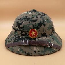 VIETNAM WAR HAT NVA VIETCONG VC PITH HELMET JUNGLE EXPLORER CAMOUFLAGE CAP