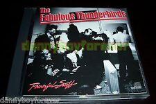 The Fabulous Thunderbirds 3 CD Lot Powerful Stuff Tuff Enuff Walk That Talk
