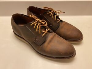 Red Wing 3306 Weekender Oxford Red Maple Muleskinner Leather Men 11