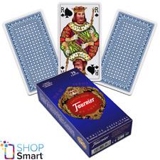 FRENCH TAROT DECK FOURNIER 78 PLAYING CARDS BLUE JEU DE NEW