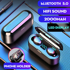 F9 Bluetooth 5.0 LED Display Wireless Earphones Headphones TWS Touch HiFi Stereo