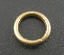 200 Anneaux Ouverts Couleur Bronze 8x1.2mm