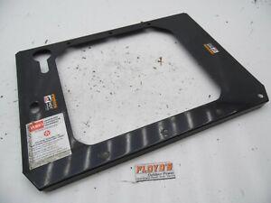 Toro Z287 Z Master Radiator Trim Plate NLA 99-4645