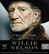 It's a Long Story My Life Willie Nelson 8-CD AUDIO BOOK + PDF PHOTOS NEW