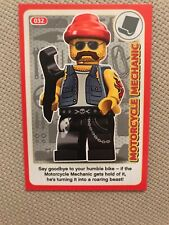 Lego Incredible Inventions (Create the World) Card #032 Motorcycle Mechanic