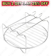 Air Fryer Double Layer Rack Air Fryer Accessories Multi-purpose Rack Kitchen Use