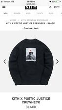 Kith x Poetic Justice Crewneck Size Small Tupac