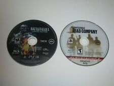 Battlefield Based  Games - Playstation 3 Lot Of 2  - Disc Only