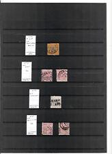 N°643 - WURTEMBERG ( 1862-94 ) - 6 timbres oblitérés