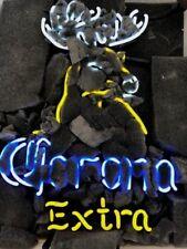 "New Corona Extra Beer Deer Bar Lamp Neon Light Sign 24""x20"""
