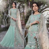 Pakistani Maria B Designer Suit Wedding Dress Lehnga Collection Shalwar Kameez