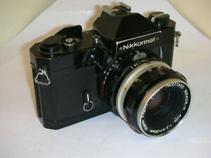 Nikon Nikkormat FT2 Noir avec Nikkor H 50mm/2