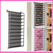 Shoe Rack Hanging Storage Organizer Door Over Closet Hanger Wall Mounted Shelf