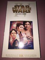star wars a new hope 2000744 vhs Rare Vintage