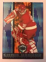1998-99 Chris Osgood #67 Pacific Dynagon Ice Blue Parallel 13/67