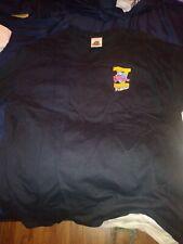 Planet Hollywood 5th Anniversary XL Shirt 2 Sided Moore Willis Stallone Goldberg