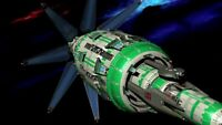 Babaylon 4 Station Plastic Model Kit (Babylon 5)