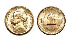 1944-D Silver Jefferson Nickel - Gem BU #632