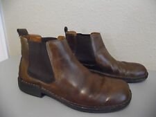 MERONA Men's Brown Leather Ankle High Top Shoes Size 12 M