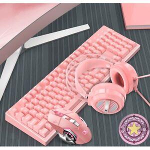 Hintergrundbeleuchtung Wired Gaming Tastatur + Gaming Maus + Mäuse Pad + Gaming