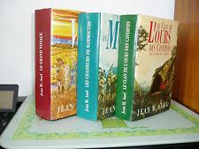 LES ENFANTS DE LA TERRE  (3 volumes ) / Jean M. AUEL