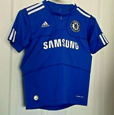 Chelsea F.C.Home  Boys Small '09 - '10 Adidas Football Soccer Shirt Jersey Used